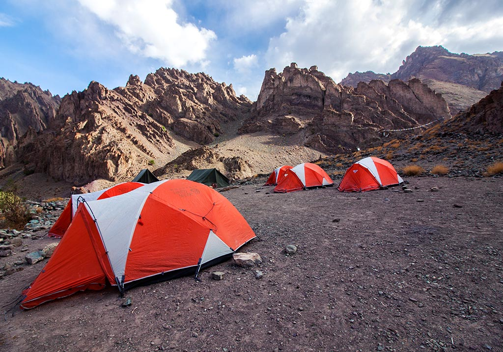 Camp site at Mankarmo