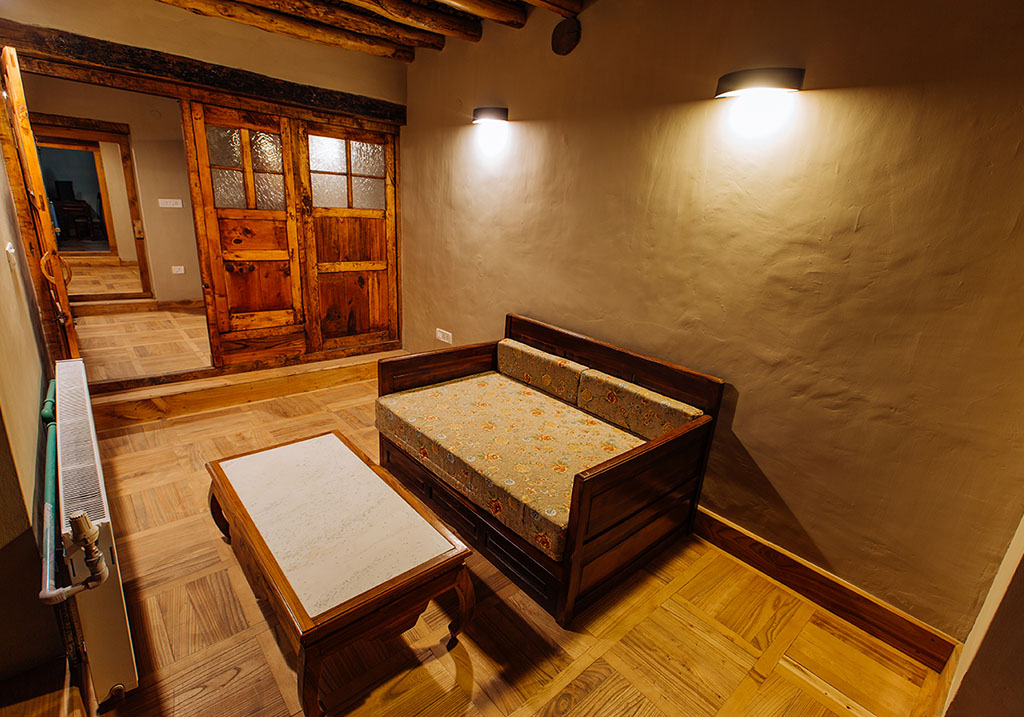 Accommodations at the Heritage wing