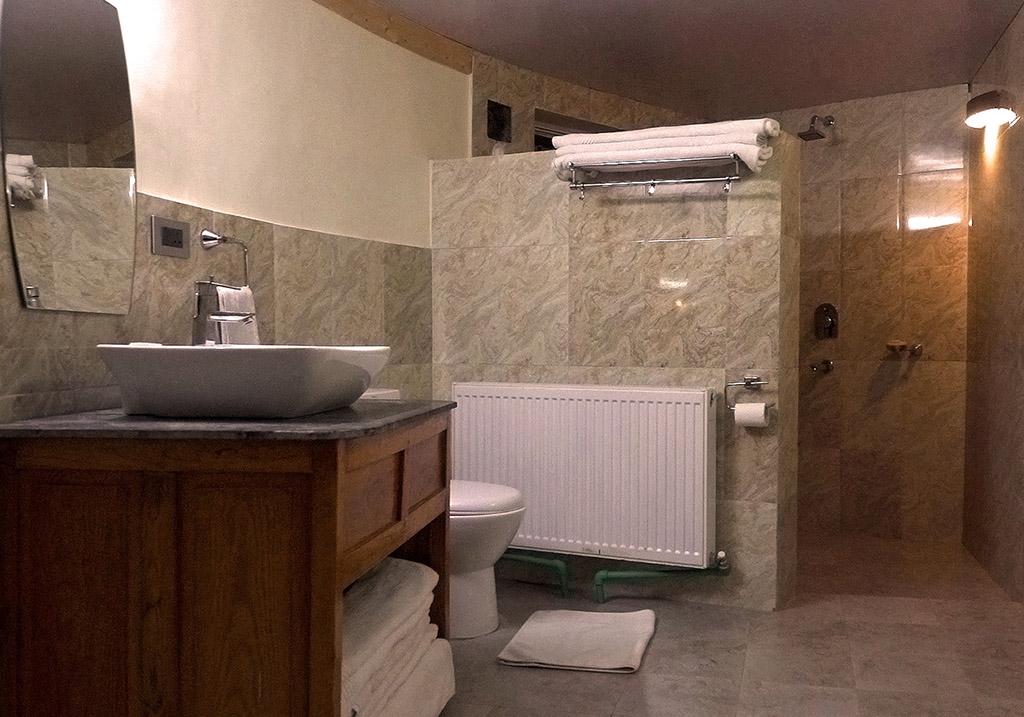 Washroom facility within the Hermitage