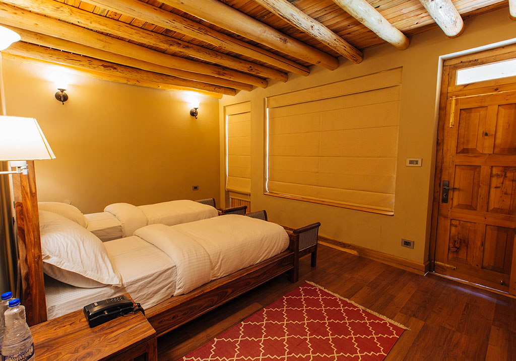 Accommodations at the Chalet