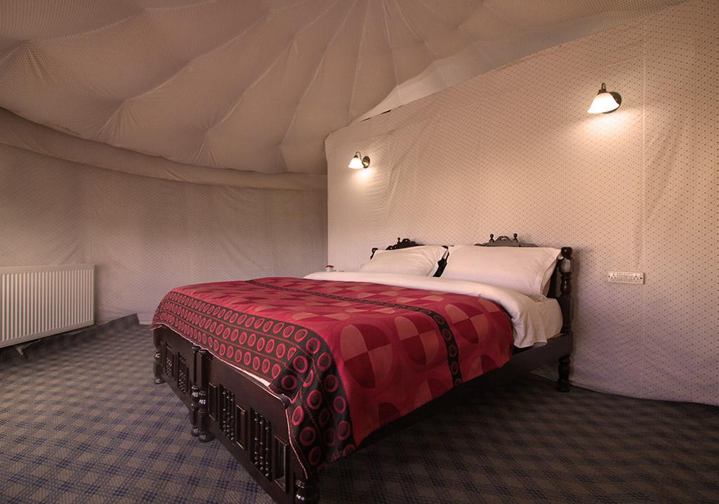 Accommodations at the Pangong Superior